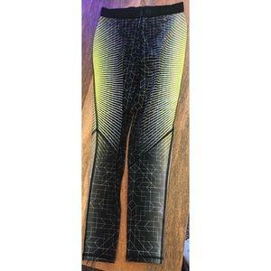 Nike Pro Womens Dri Fit Training Pants Stretch